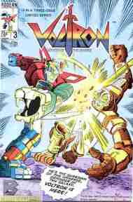 """Yesterday's"" Comic> Voltron #3"