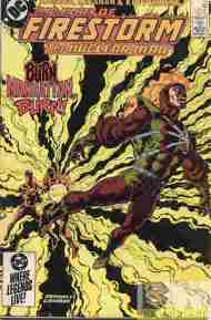 """Yesterday's"" Comic> Fury Of Firestorm #33"