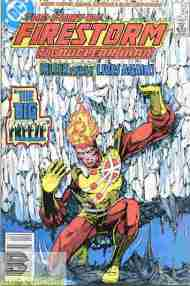 """Yesterday's"" Comic> Fury Of Firestorm #34"