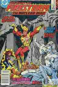 """Yesterday's"" Comic> Fury Of Firestorm #35"