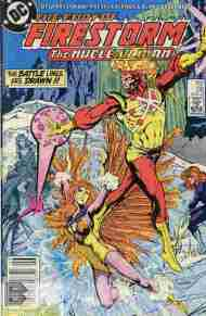 """Yesterday's"" Comic> Fury Of Firestorm #36"