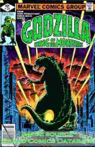 """Yesterday's"" Comic> Godzilla #24 (Marvel)"