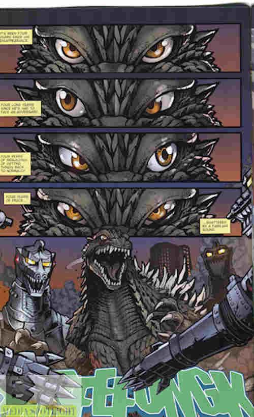 Godzilla Rulers Of Earth #15 Best Scene