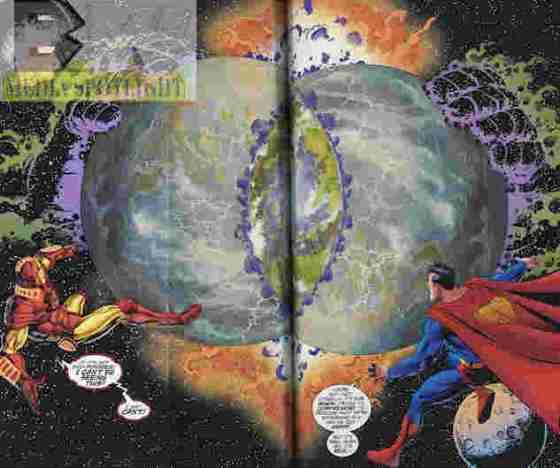 JLA-Avengers #3 merge