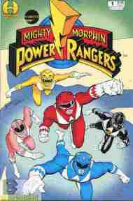 """Yesterday's"" Comic> Mighty Morphin Power Rangers #1 (Hamilton)"