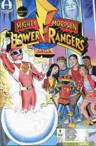 Mighty Morphin Power Rangers Saga #1