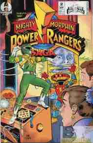 """""""Yesterday's"""" Comic> Mighty Morphin' Power Rangers Saga#2"""