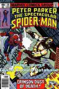 """Yesterday's"" Comic> Spectacular Spider-Man #30"