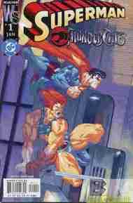 """Yesterday's"" Comic> Superman/Thundercats"