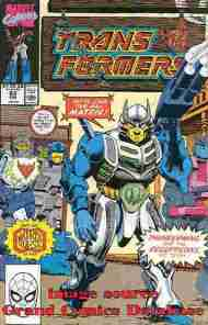 """Yesterday's"" Comic> The Transformers #63"