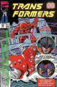 """Yesterday's"" Comic> The Transformers #64"