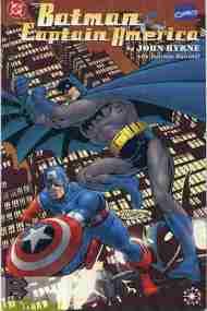 """Yesterday's"" Comic> Batman & CaptainAmerica"