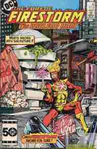 """Yesterday's"" Comic> Fury Of Firestorm #37"