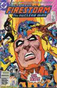 """Yesterday's"" Comic> Fury Of Firestorm #45"
