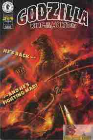 """Yesterday's"" Comic> Godzilla #0 (Dark Horse)"