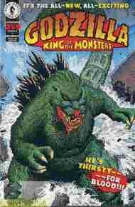 """""""Yesterday's"""" Comic> Godzilla #1 (DarkHorse)"""