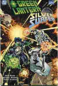 Green Lantern Silver Surfer