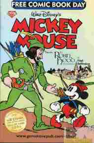 """Yesterday's"" Comic> Mickey Mouse FCBD"