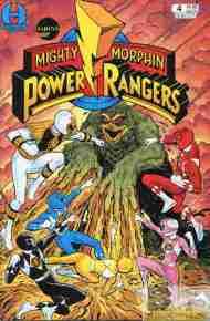 """Yesterday's"" Comic> Mighty Morphin Power Rangers#4"