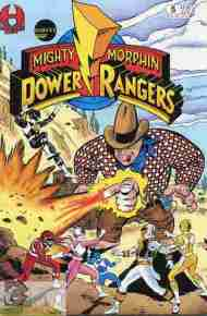 """Yesterday's"" Comic> Mighty Morphin Power Rangers #5"