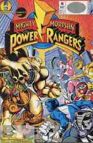 """Yesterday's"" Comic> Mighty Morphin Power Rangers#6"