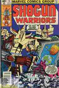 """Yesterday's"" Comic> Shogun Warriors #14"