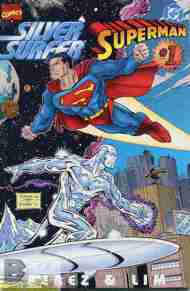 """Yesterday's"" Comic> Silver Surfer/Superman"