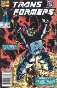 """""""Yesterday's"""" Comic> The Transformers#67"""