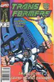 """""""Yesterday's"""" Comic> The Transformers#68"""