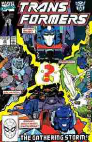 """""""Yesterday's"""" Comic> The Transformers#69"""