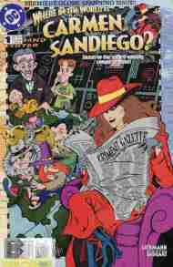 """Yesterday's"" Comic> Where In The World Is Carmen Sandiego #1"