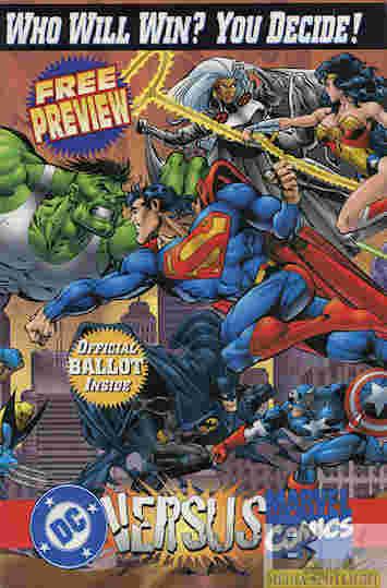 DC Vs Marvel preview