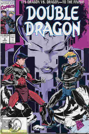 double dragon cartoon intro