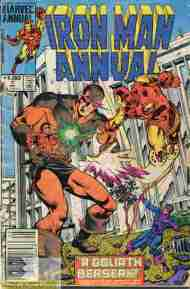 """Yesterday's"" Comic> Iron Man Annual #7"