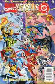 """Yesterday's"" Comic> Marvel Versus DC #2"