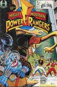 Mighty Morphin Power Rangers V2 #1