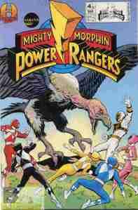 Mighty Morphin Power Rangers V2 #4