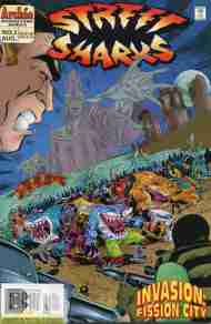 """Yesterday's"" Comic> Street Sharks V2 #3"