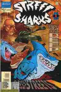Street Sharks #1