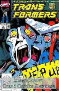 """""""Yesterday's"""" Comic> The Transformers#70"""