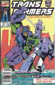 """""""Yesterday's"""" Comic> The Transformers#72"""