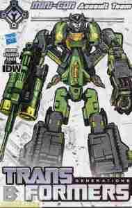 Transformers Dark Cybertron #4 Mini-Con cover