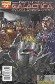 """Yesterday's"" Comic> Battlestar Galactica: Cylon Apocalypse#2"