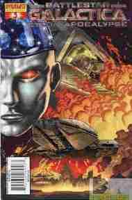 """Yesterday's"" Comic> Battlestar Galactica: Cylon Apocalypse#3"