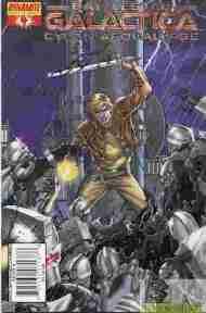 """Yesterday's"" Comic> Battlestar Galactica: Cylon Apocalypse#4"