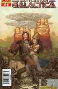 """Yesterday's"" Comic> Classic Battlestar Galactica #2"