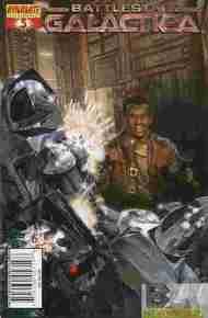 """Yesterday's"" Comic> Classic Battlestar Galactica#3"