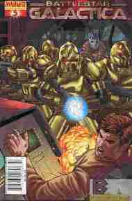 """Yesterday's"" Comic> Classic Battlestar Galactica #5"