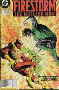 """Yesterday's"" Comic> Firestorm The Nuclear Man #66"