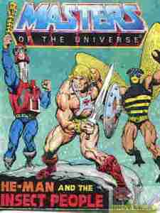 Masters Of The Universe He-Man and the Insect People